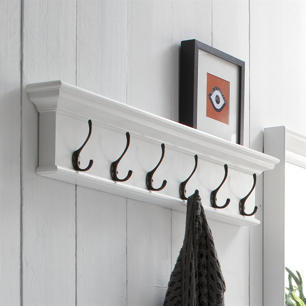 Halifax 6 Hook Coat Rack