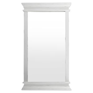 Halifax Portrait Rectangular Mirror - Pure White