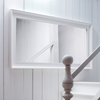 Halifax Grand Rectangular Mirror - Pure White - NSOLO-P75