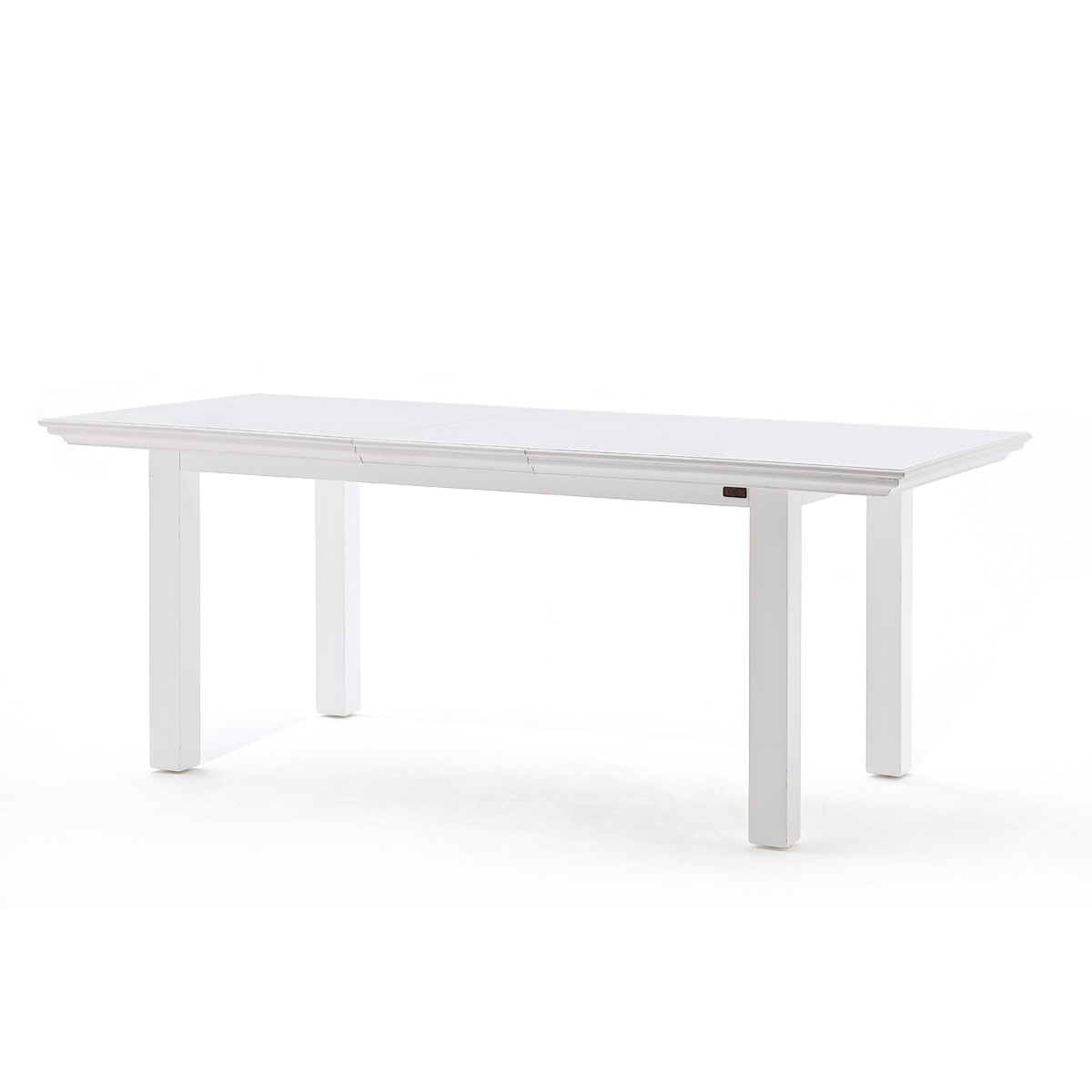 Halifax Extension Rectangular Table - Pure White - NSOLO-T766