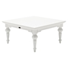 Provence Square Coffee Table - Pure White - NSOLO-T774