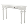Provence 2 Drawers Console Table - Pure White - NSOLO-T776
