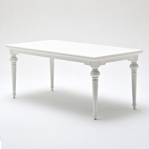 "Provence 71"" Rectangular Dining Table - Pure White"