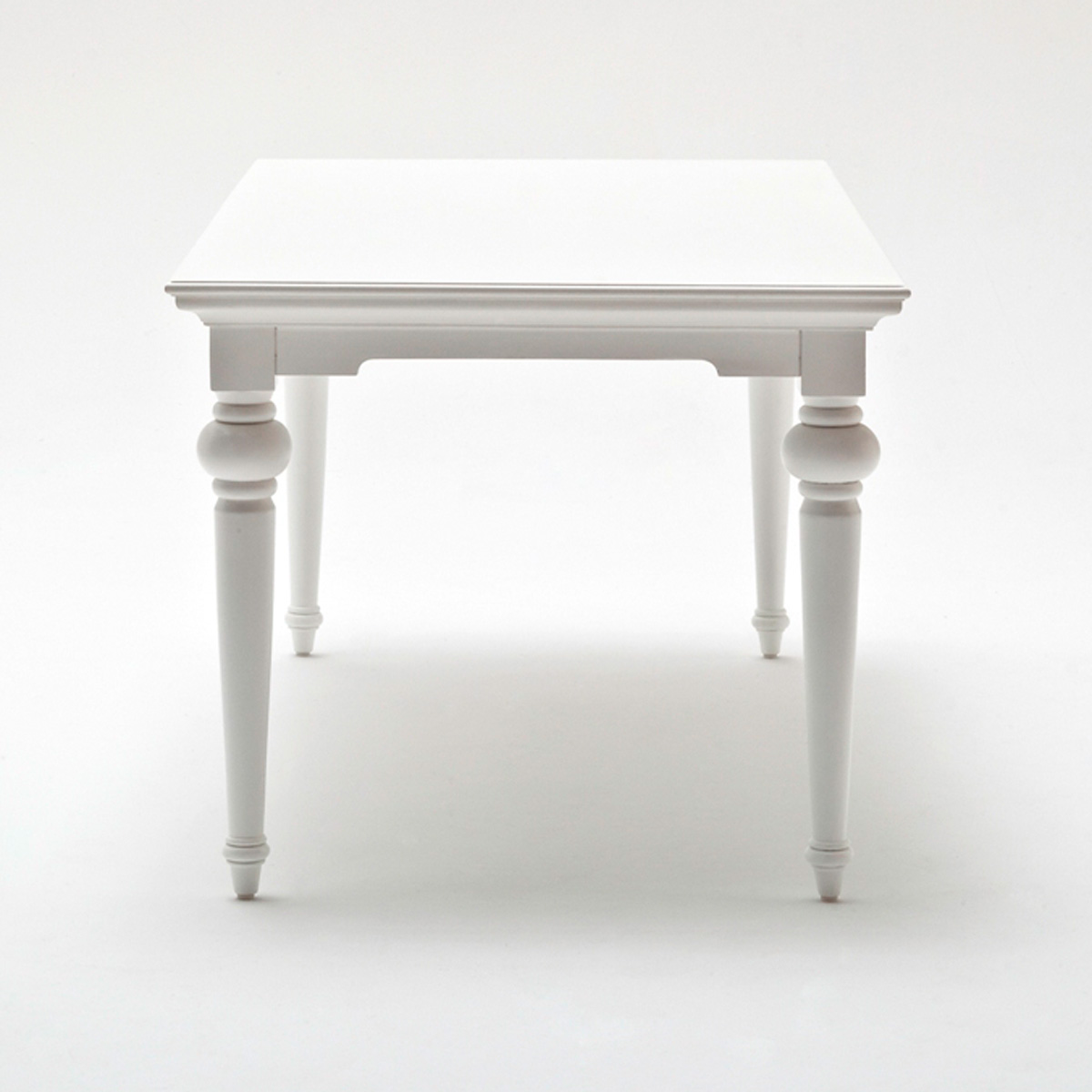 "Provence 71"" Rectangular Dining Table - Pure White - NSOLO-T777"
