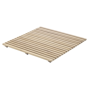 Le Click Square Wooden Tile - Raw