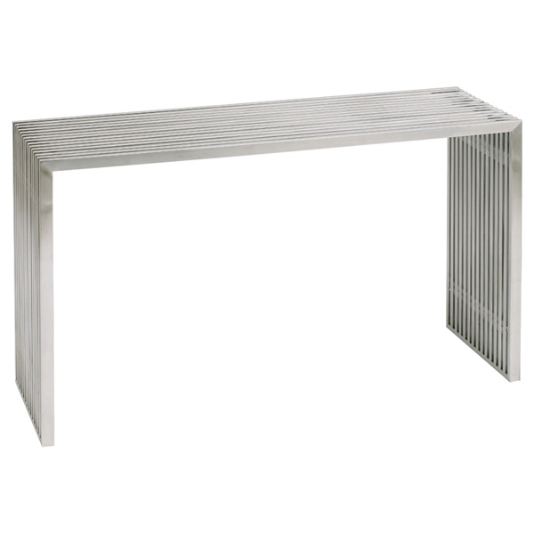 Amici Stainless Steel Console Table DCG Stores