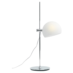Sussex Adjustable White Table Lamp