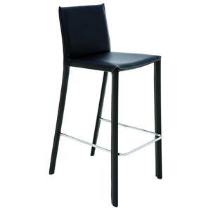 Brigitte Leather Barstool