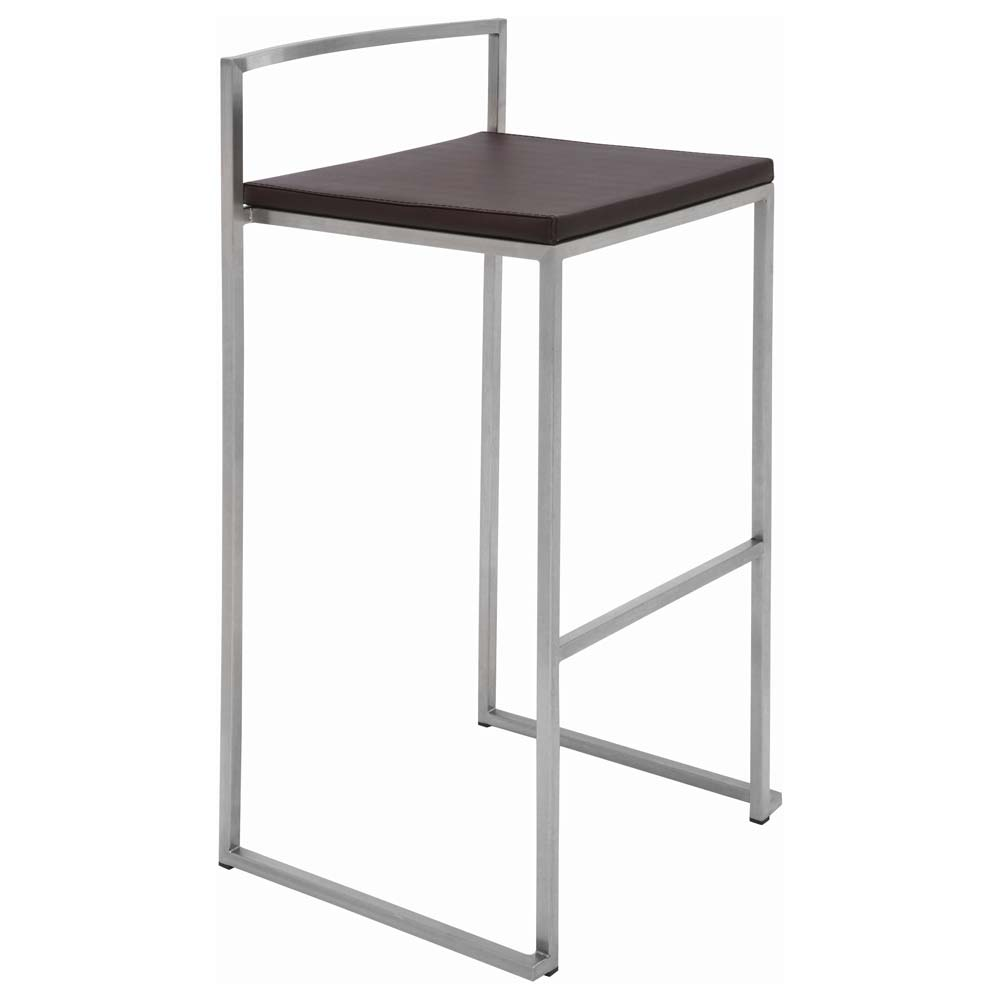 Genoa Leather Counter Stool - NVO-HGBO15X-CS
