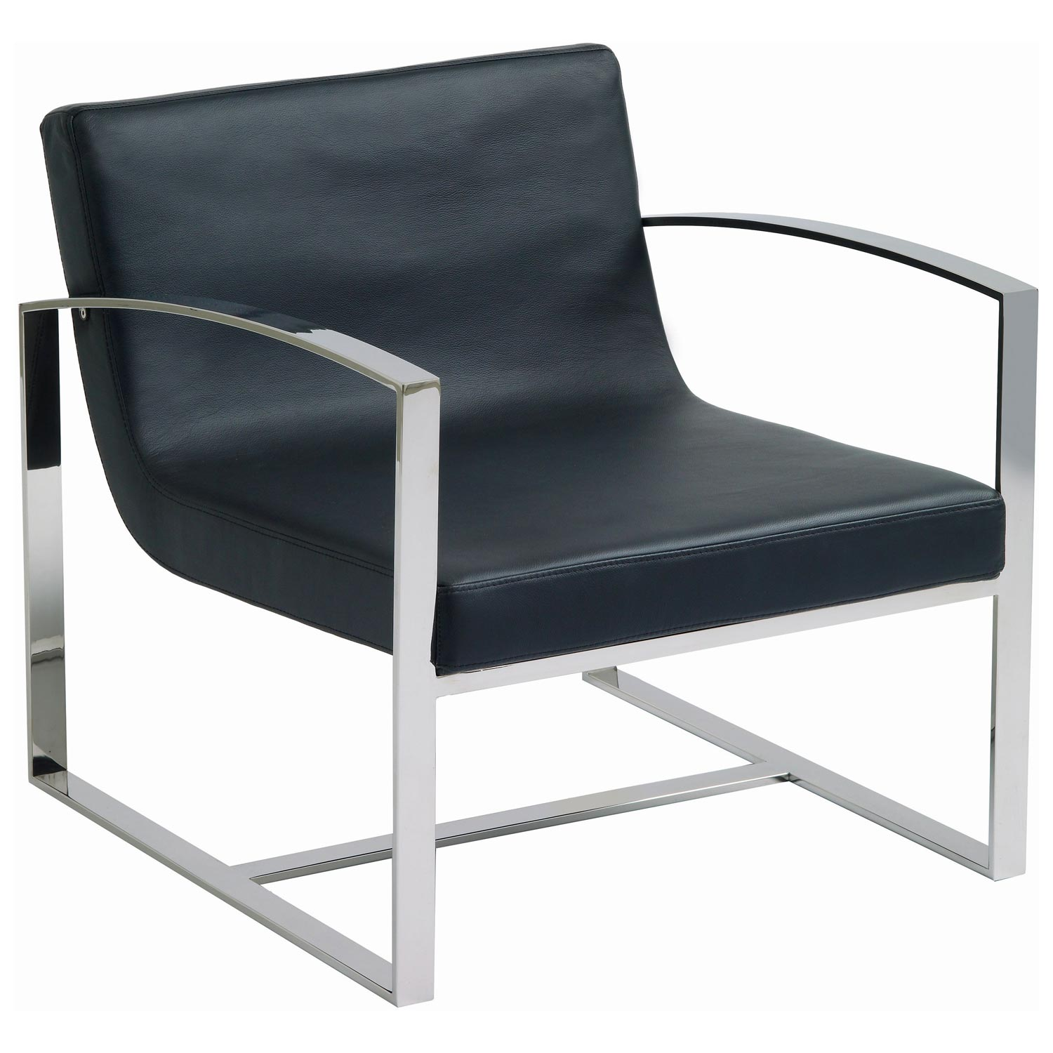 Corbin Lounge Chair - Black