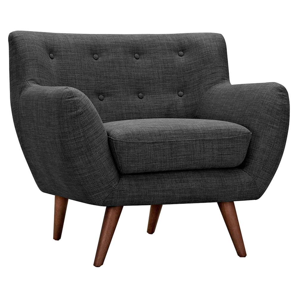 Tufted armchair 28 images sofa comfy grey tufted couch for Grey comfy chair