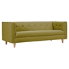 Kaja Sofa - Avocado Green, Tufted - NYEK-223328