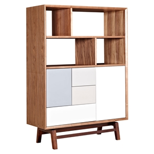 Grane Storage Unit - Walnut