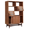 Hanna Storage Unit - Walnut and White - NYEK-224420-A