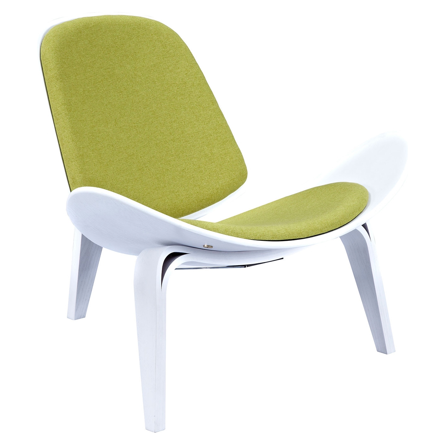 Shell Accent Chair - Avocado Green - NYEK-224432