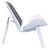 Shell Accent Chair - Steel Gray - NYEK-224435