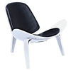 Shell Accent Chair - Milano Black - NYEK-224436