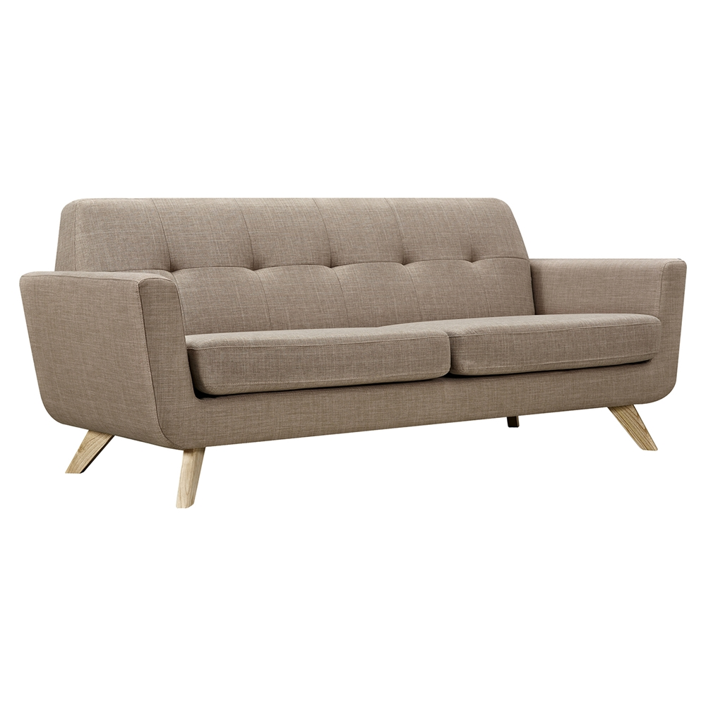 Dania Tufted Upholstery Sofa Light Sand Dcg Stores