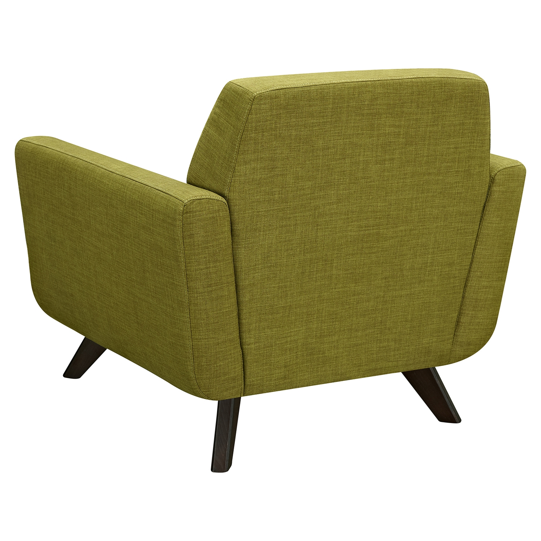 Dania Tufted Upholstery Armchair - Avocado Green : DCG Stores