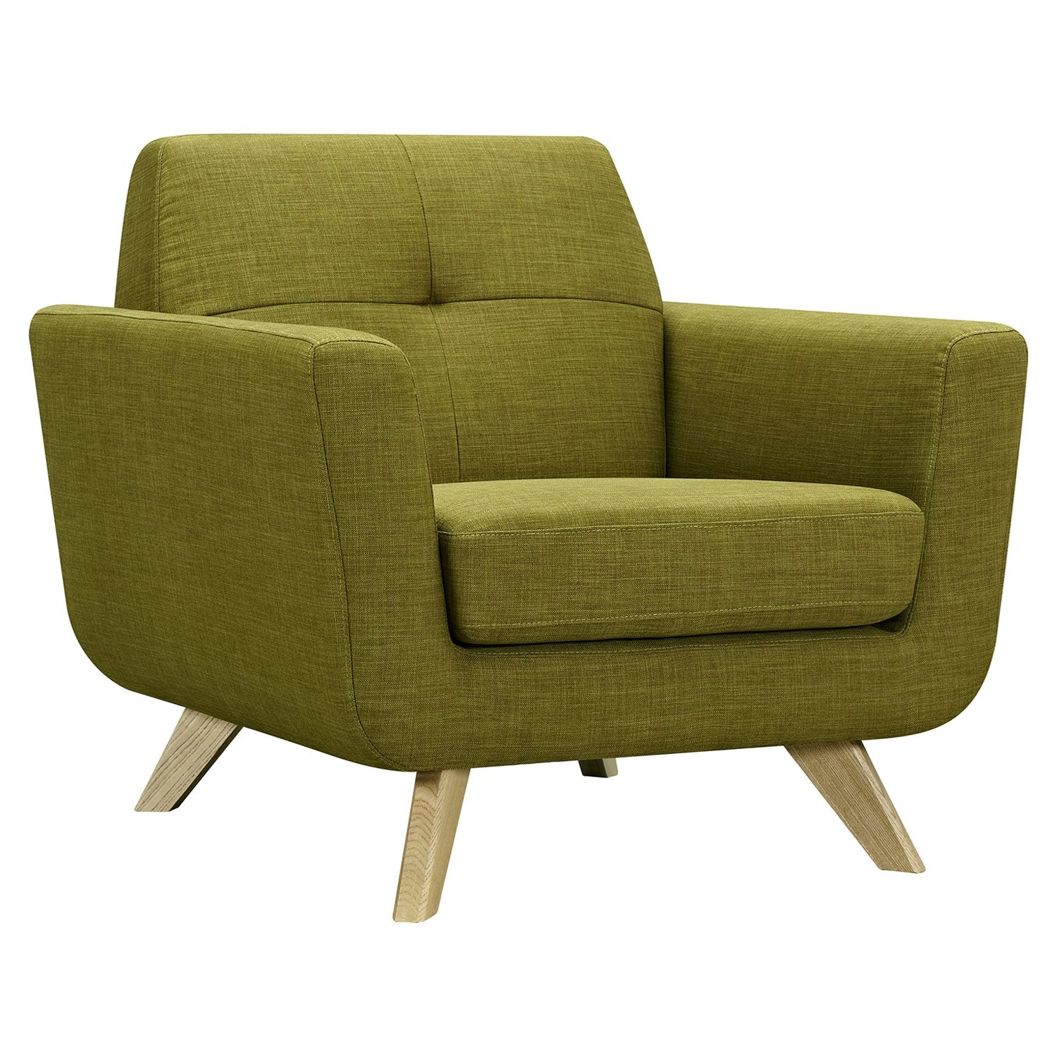... Dania Furniture Reviews By Dania Tufted Upholstery Armchair Avocado  Green Dcg Stores ...