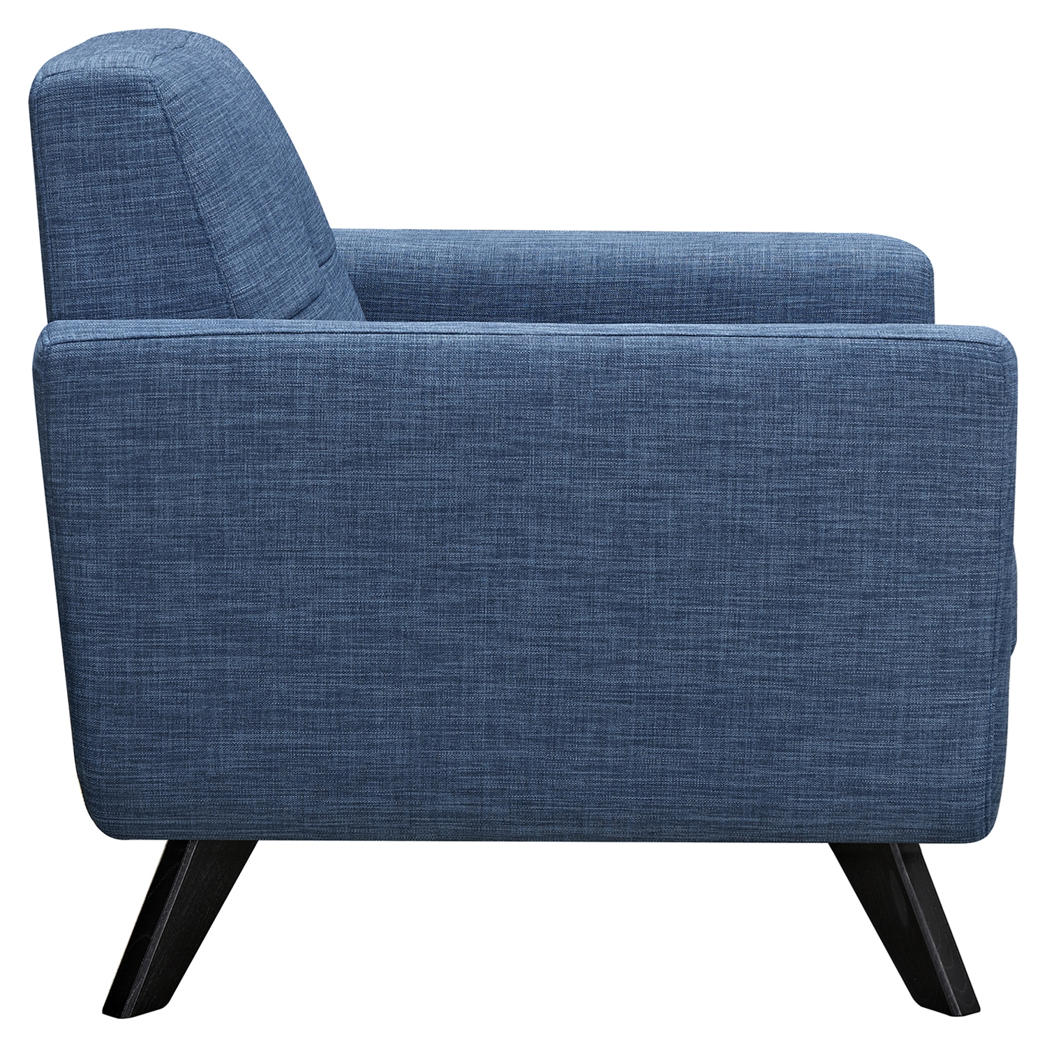 Dania Tufted Upholstery Armchair Stone Blue Dcg Stores