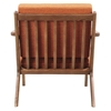 Zain Armchair - Burnt Orange - NYEK-224478