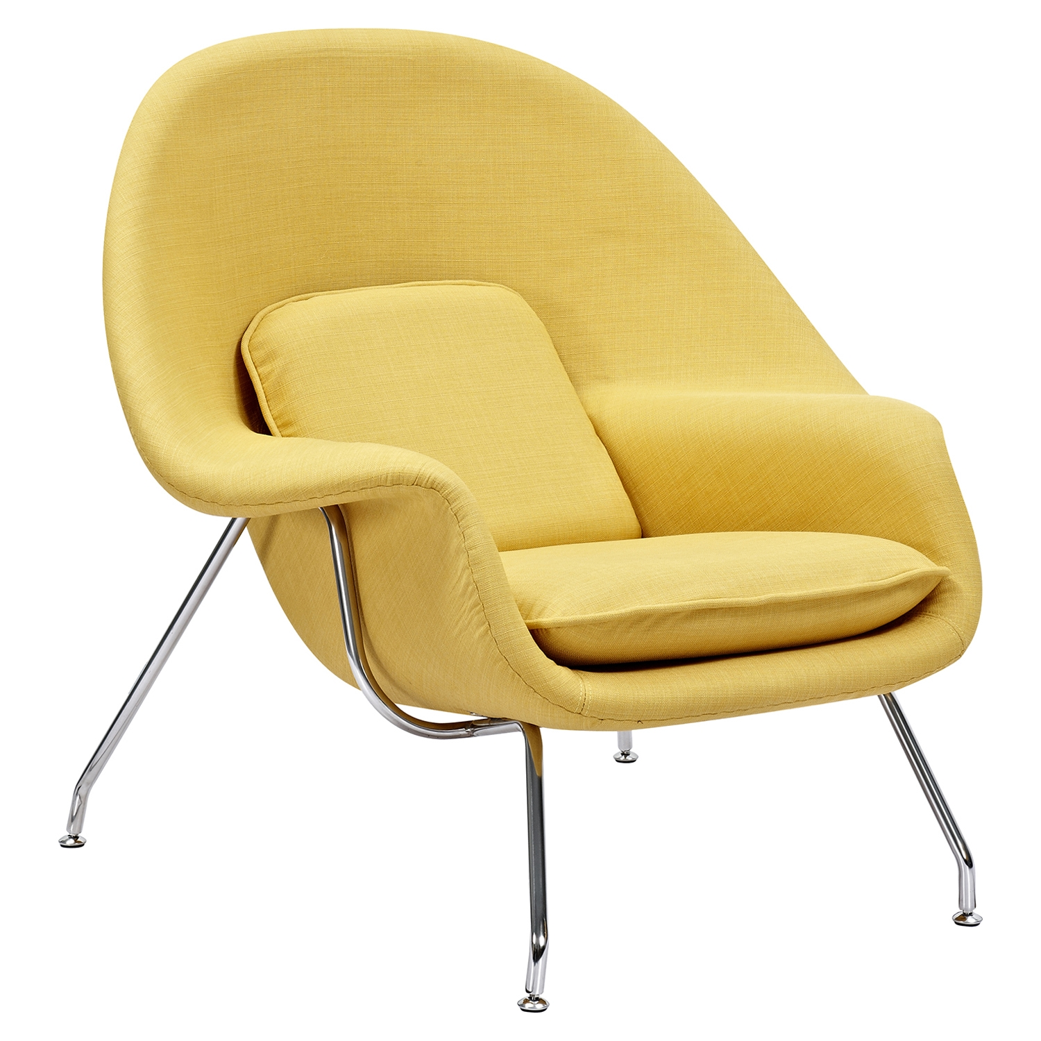 Saro Upholstered Chair - Papaya Yellow - NYEK-225504