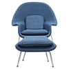 Saro Upholstered Chair - Dodger Blue - NYEK-225507