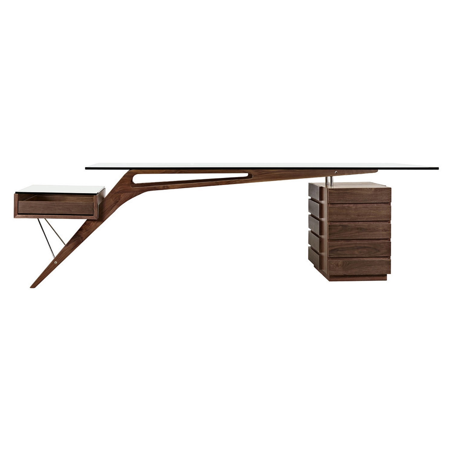 Koen Desk - Walnut - NYEK-445536M