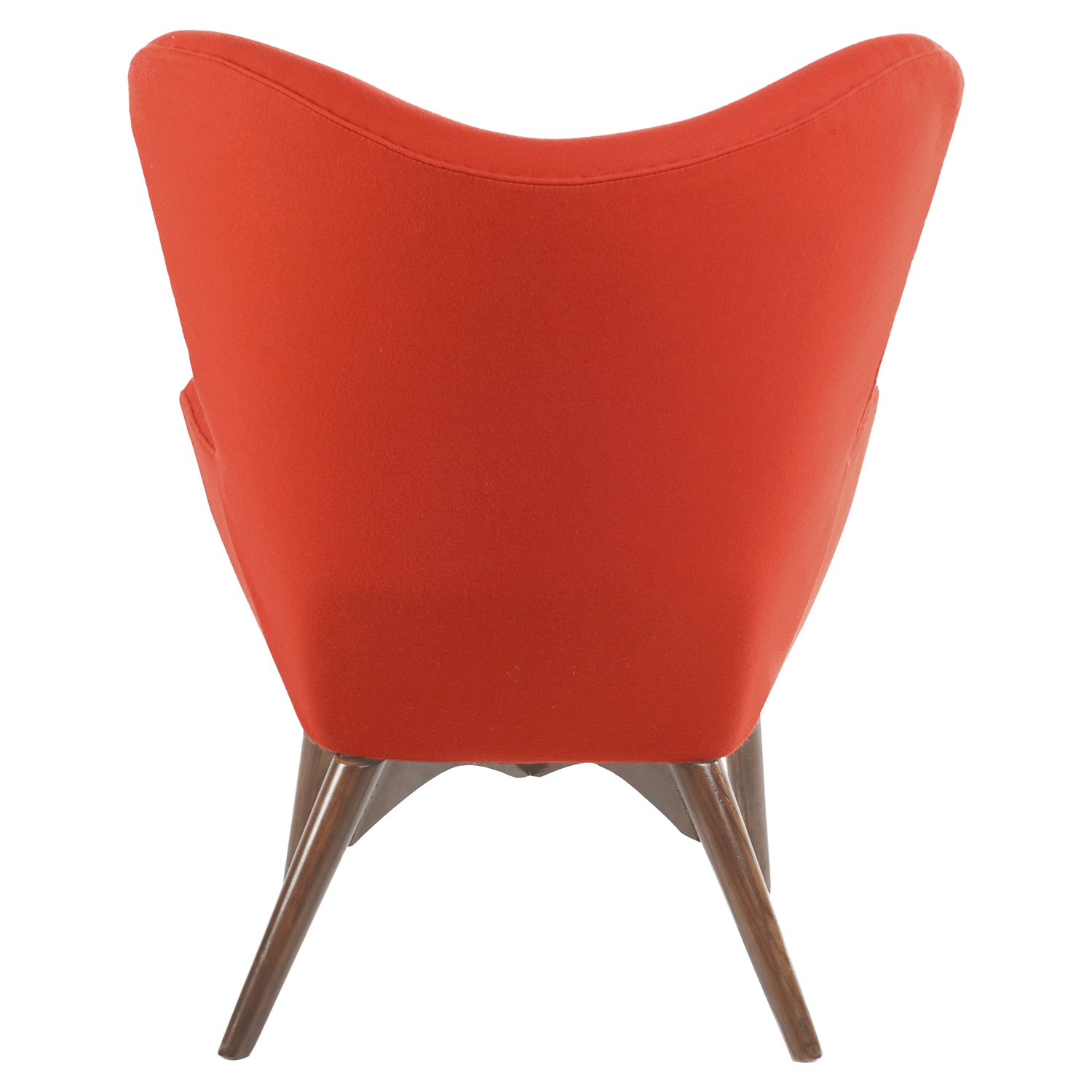 Aiden Button Tufted Upholstery Chair Lava Red Dcg Stores