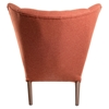 Bjorn Button Tufted Upholstery Chair - Retro Orange - NYEK-445547