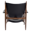 Arne Button Tufted Armchair - Jet Black - NYEK-445548