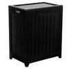 Hollister Mahogany Laundry Basket Hamper - OSD-RHP0109MH
