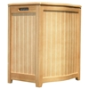 Timberlake Natural Laundry Hamper - Bowed Front - OSD-BHP0106N