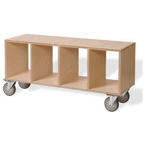 Bench Box with Casters