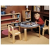 Woody Chalkboard Table - OFF-VCT3018