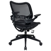 Space Seating 13 Series Deluxe Full AirGrid Office Chair with Cantilever Arms - OSP-13-77N1P3