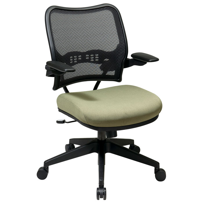 Space Seating 13 Series Deluxe AirGrid Back Office Chair with Cantilever Arms - OSP-13-7N1P3