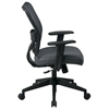 Space Seating 13 Series Deluxe Charcoal VeraFlex Office Chair - OSP-13-V44N1WA