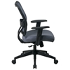 Space Seating 13 Series Deluxe Blue Mist VeraFlex Office Chair - OSP-13-V77N1WA