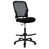 Space Seating 15 Series Big Man's Dark Double AirGrid Back Drafting Chair - OSP-15-37A720D