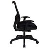 Space Seating 18 Series Latte AirGrid Back Executive Chair with Adjustable Arms - OSP-18-28N28P