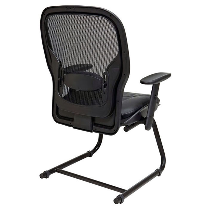 Space Seating 24 Series Professional Visitor's Chair with Sled Base - OSP-2405
