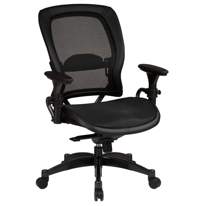 Space Seating 27 Series Professional Gunmetal Finished Base Office Chair - OSP-2787