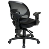 Pro-Line II ProGrid Back Ergonomic Task Chair with Adjustable Padded Armrests - OSP-29024
