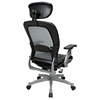 Space Seating 36 Series Professional AirGrid Office Chair with Adjustable Headrest - OSP-36806