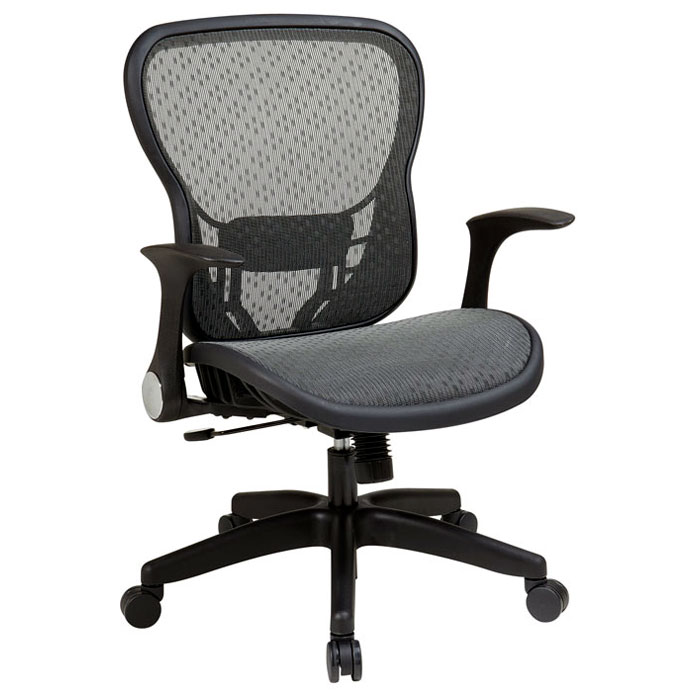 Space Seating 529 Series Deluxe R2 SpaceGrid Office Chair   Flip Arms    OSP 529 ...