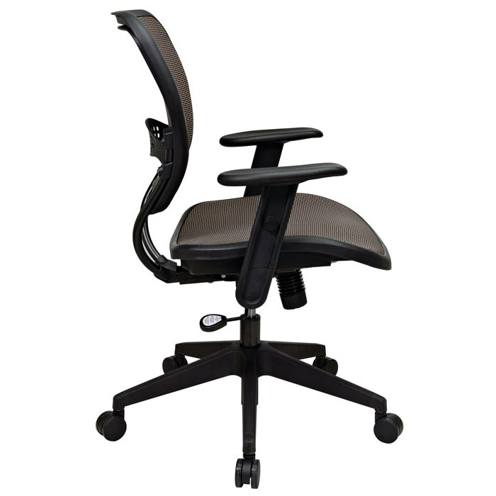 Space Seating 55 Series Latte AirGrid Deluxe Task Chair - OSP-55-88N15