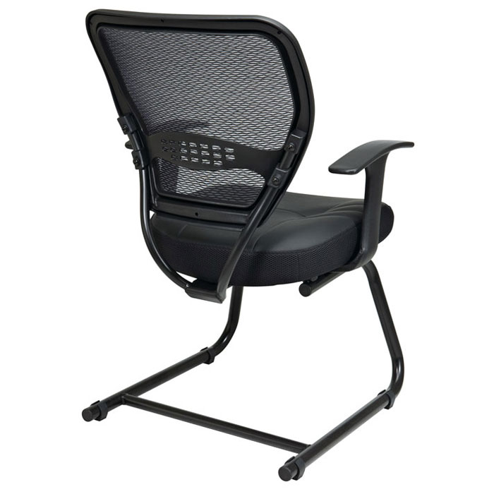 Space Seating 57 Series Professional AirGrid Back Visitor's Chair - OSP-5705