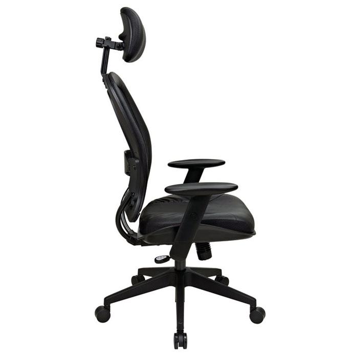 Space Seating 57 Series Professional Leather Office Chair - OSP-57906